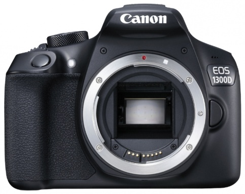 Canon EOS 1300D Rebel T6 DSLR Wi-Fi Camera with 18-55mm III Lens