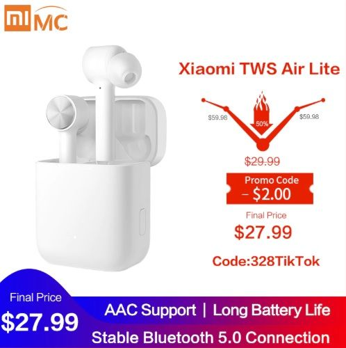 Original Xiaomi Mi True Wireless Earphones Lite TWS - Aliexpress