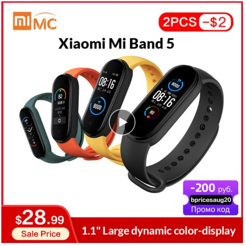 Xiaomi Mi Band 5 - Aliexpress
