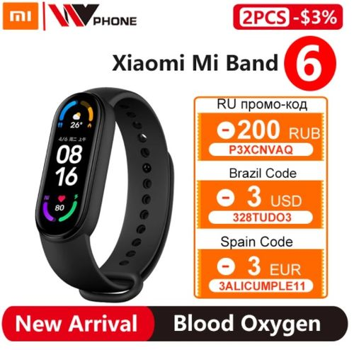 Xiaomi Mi Band 6 - Aliexpress